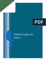 II Composiciòn quimica del cemento, pruebas físicas y mecanicas, tipos de cemento.pdf