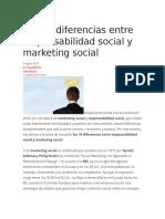 Mkt Social y Responsabilidad Social