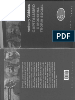 Anthony Giddens - Capitalismo e Moderna Teoria Social