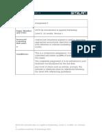 MGT104 Assignment 3