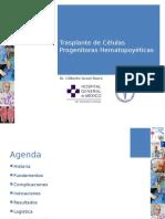 Trasplante de Células Progenitoras Hematopoyéticas HGM