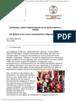 Mamani, P. (2003)_ Simbología y Poder Indígena Después de Los Kataris-Amarus