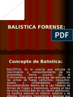 BALISTICA FORENSE.ppt