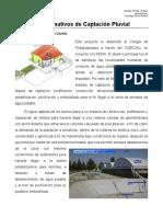 Instalaciones Captacion Pluvial