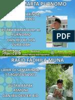 Slide Wisuda Akbar SMP FINAL