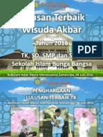 Slide Wisudawan Berprestasi
