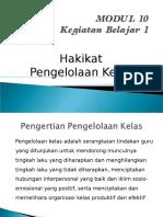 Strategi Pembelajaran Modul 10-12