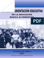 Tutoría y Orientación Educativa en Básica Alternativa (1)