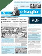 Edicion Impresa El Siglo 09-06-2016