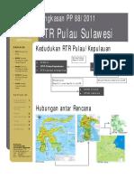 PP 88 Tahun 2011 Tentang RTR Pulau Sulawesi