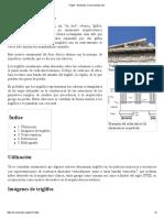 Triglifo - Wikipedia, La Enciclopedia Libre