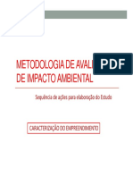 Metodologia de Avaliação de Impacto Ambiental