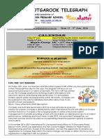 Newsletter - 9th June
