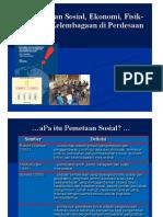 1. 1 Pemetaan Sosial Ekonomi Teknis Kelembagaan Pedesaan 29 n0v 2015.Ppt