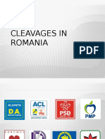 ISP - Political Cleavages in Romania