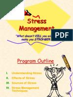Stress Management Presentation - DNV