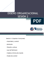 DISEÑO ORGANIZACIONAL - 2