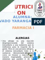 Alergia y Alimentos
