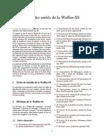 Liste Des Unités de La Waffen-SS