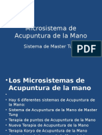 Microsistema de Acupuntura de La Mano