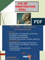 Via de Administracion Oral Cba