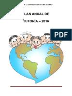 Plan Anual Tutoria2016