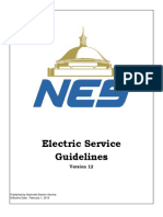 Guidelines for Service