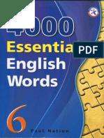 4000 English Words Volume 6