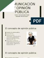 Clase OpiniónPública