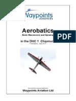 Aerobatics Manual Dch 1 Chipmunk Master First Edition