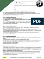DM n°1 - Tissu musculaire - Sujet