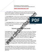 CDR-EL-1109 - CDR Sample Electrical