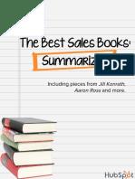 The Best Sales Books Summarized