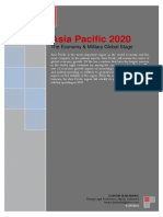Asia Pacific 2020, The Economy & Military Global Stage