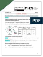 Chemical Bonding E-material