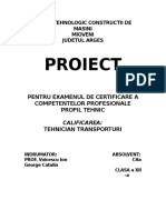 Transporturi Proiect