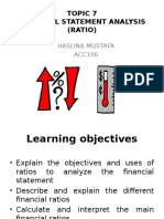 Financial Statement Analysis (Ratio) presentation