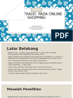 Cyber Fraud Pada Online Shopping