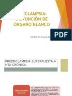 PRECLAMPSIA Disfunción de Órgano Blanco (1)
