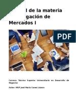 Manual Investigación de Mercados I