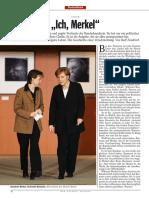 Ich Merkel - Spiegel - Juin 2009