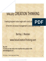 Value Creation Thinking