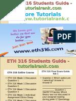 ETH 316 Students Guide -Tutorialrank.com