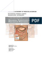Abdominal Tuberculosis With Perforation Peritonitis
