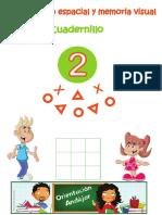 ORIENTACIÓN ESPACIAL Y MEMORIA VISUAL Cuadernillo 2 Completo