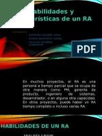 Habilidades y Características de Un RA