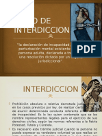 Juicio de Interdiccion