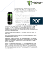 enery drink research