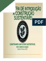 2 Introdução a Construção Sustentável - 19.03.10