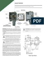 Bulletin 836T Pressure Controls